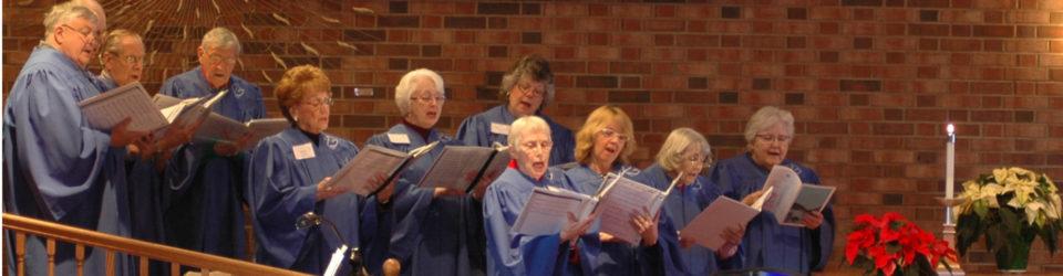 Photo of the church choir